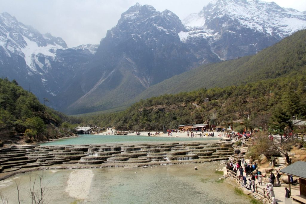 Lijiang Jade Snow Dragon Mountains