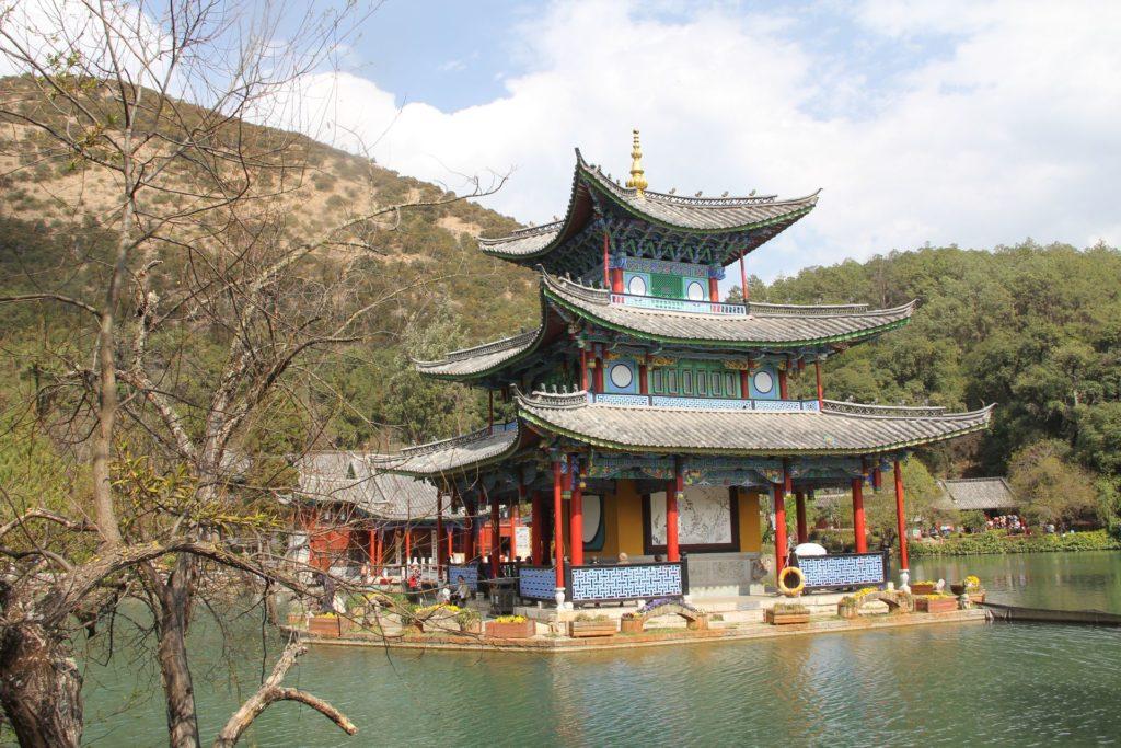 Lijiang Wufeng Pavilion