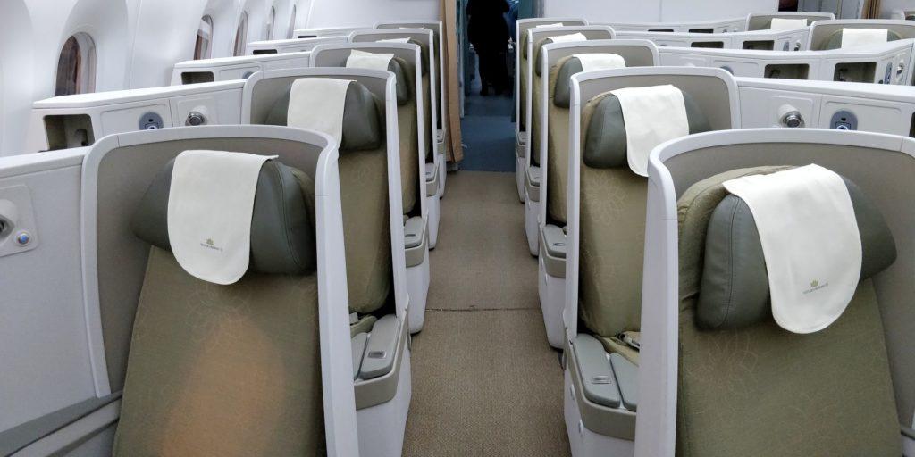 Vietnam Airlines Boeing 787 Business Class Cabin