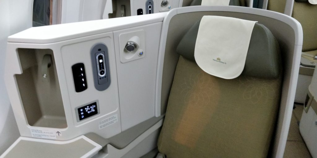 Vietnam Airlines Boeing 787 Business Class Seat