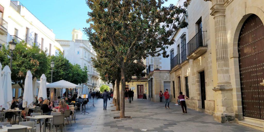 Calle Consistorio Jerez de la Frontera