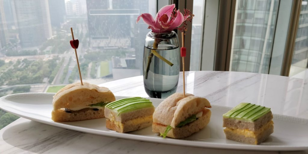 Conrad Hangzhou Lounge Afternoon Tea