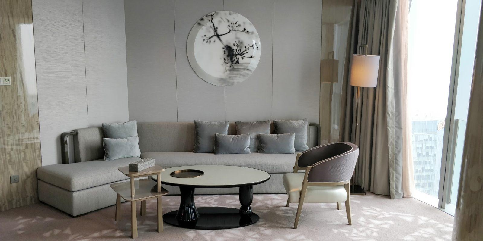 Conrad Hangzhou Suite Living Room