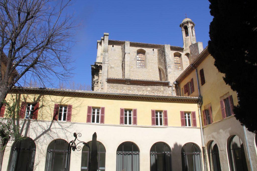 Hotel Jules Cesar Arles Inner Courtyard