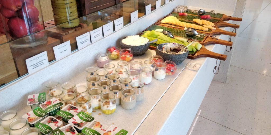 Raffles Dubai Breakfast