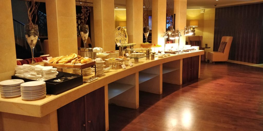 Raffles Dubai Club Dinner