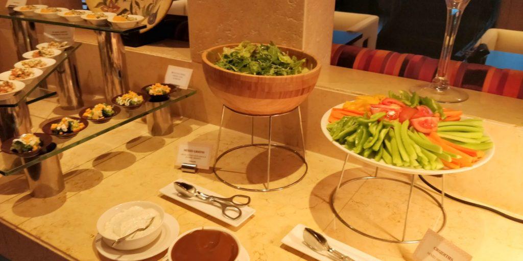 Raffles Dubai Dinner
