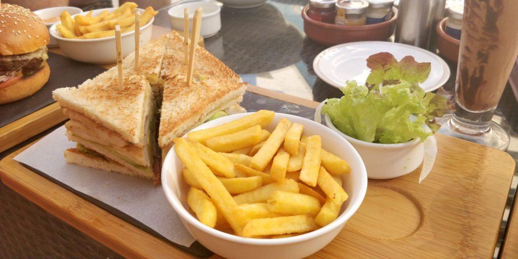 Raffles Dubai Food