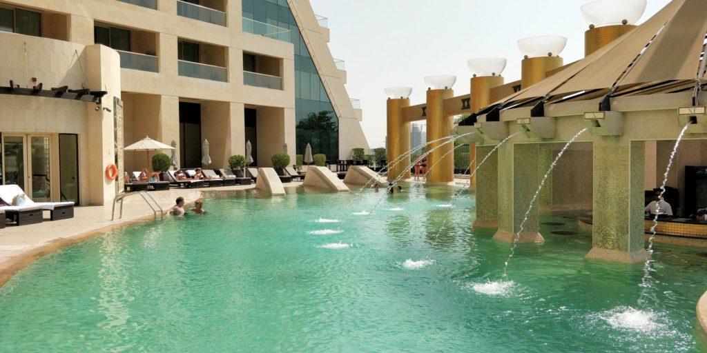Raffles Dubai Pool