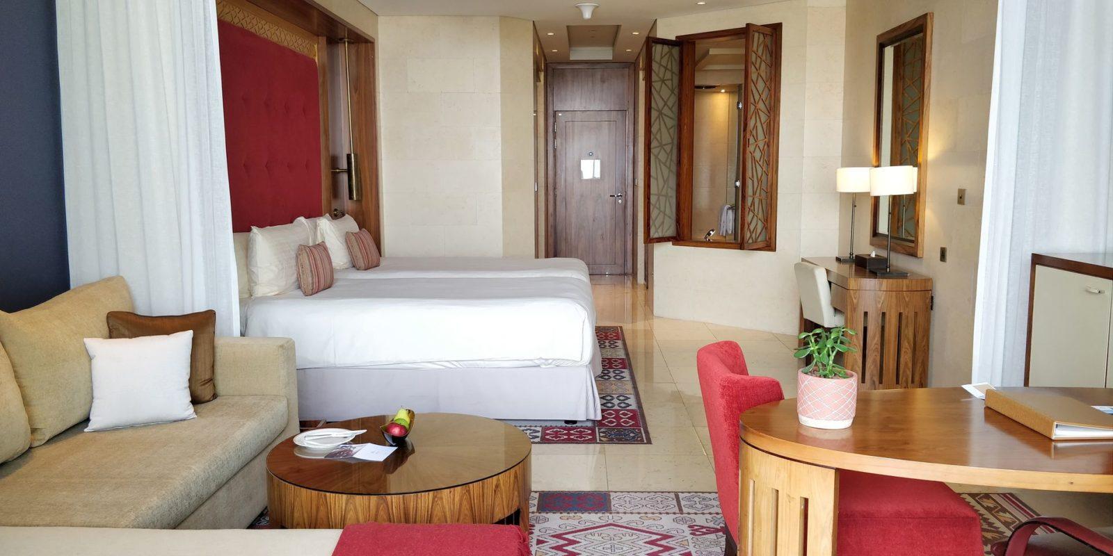 Raffles Dubai Room