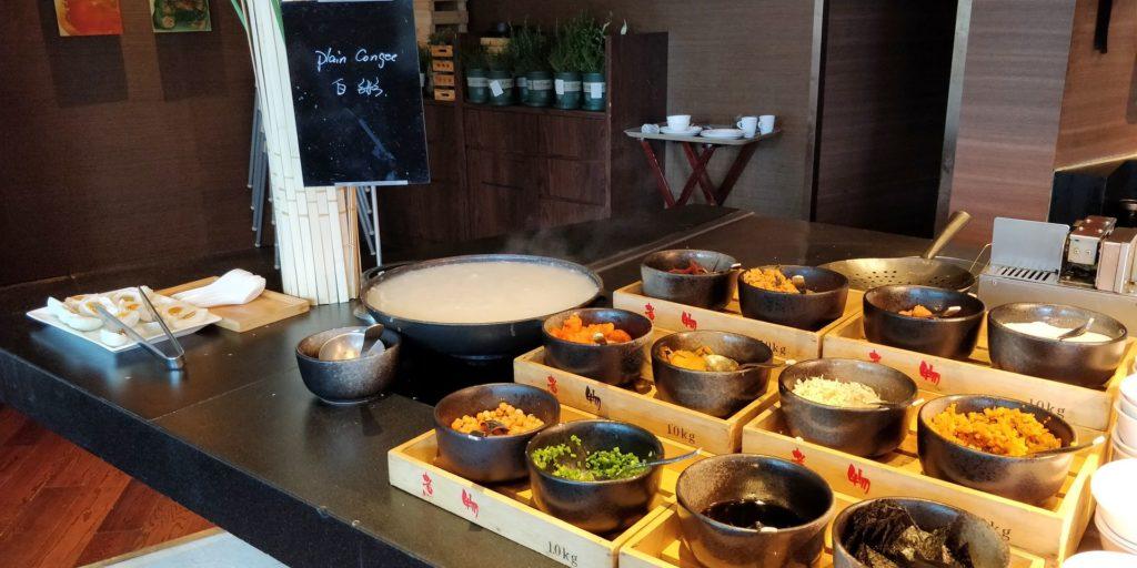 Hyatt on the Bund Shanghai Breakfast