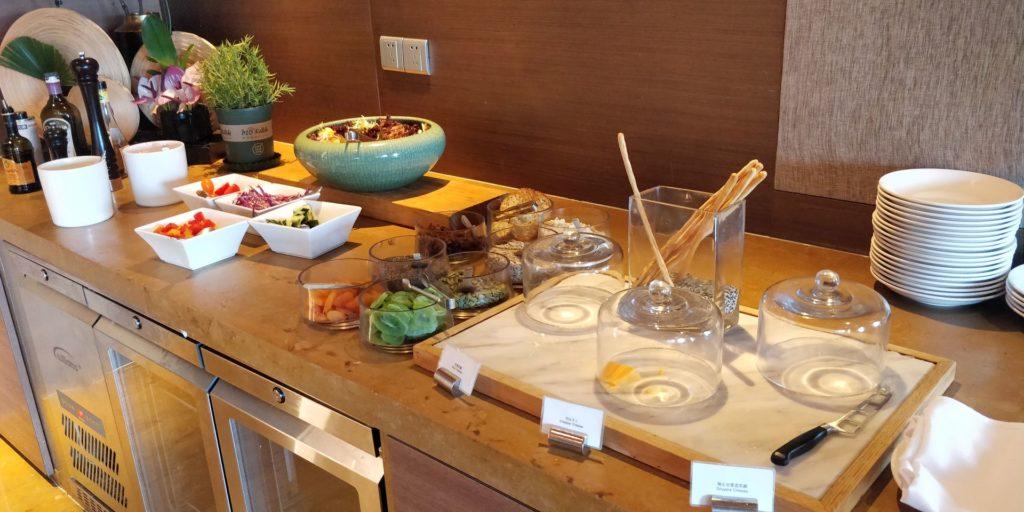 Hyatt on the Bund Shanghai Lounge Breakfast