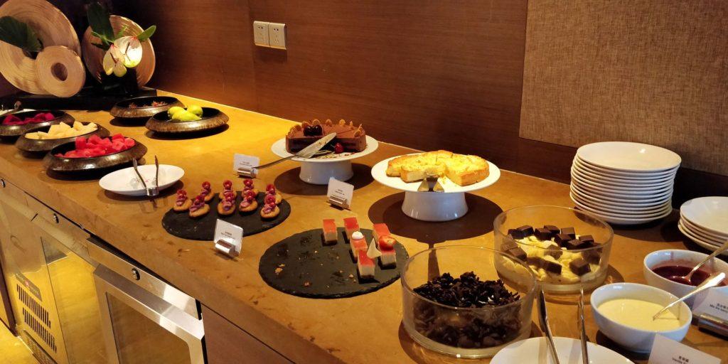 Hyatt on the Bund Shanghai Lounge Dinner
