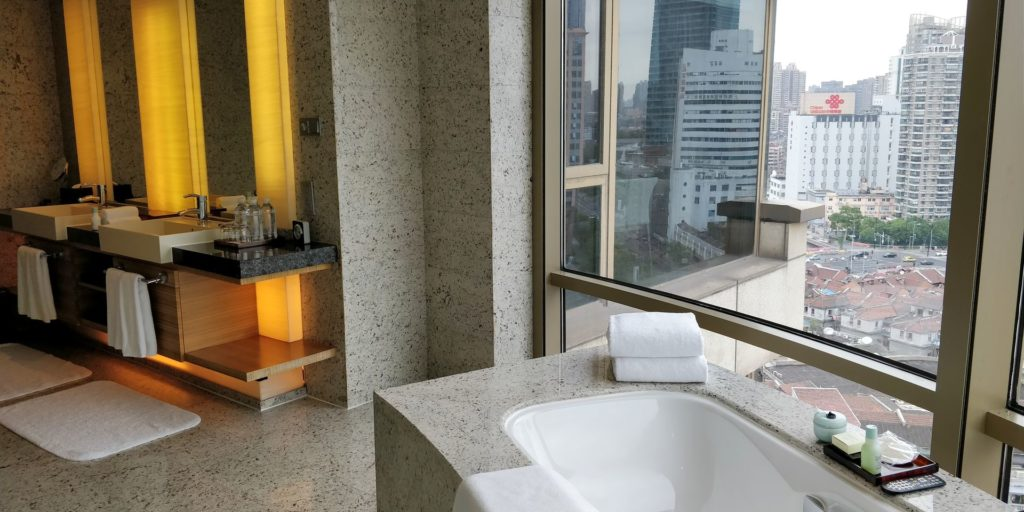 Hyatt on the Bund Shanghai Suite Bathroom
