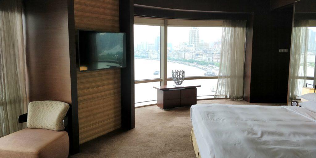 Hyatt on the Bund Shanghai Suite Bedroom