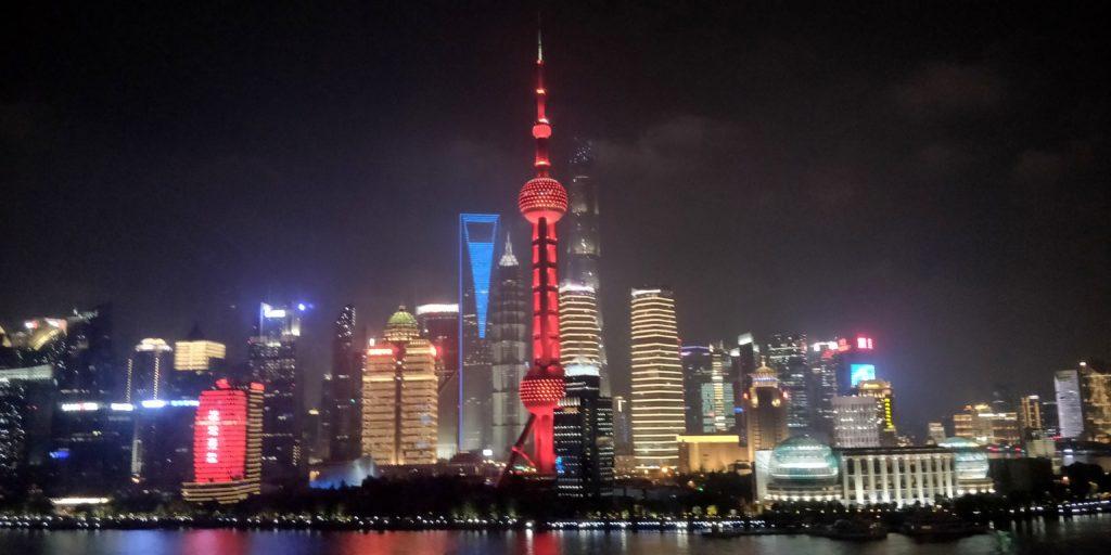 Hyatt on the Bund Shanghai Suite View Night