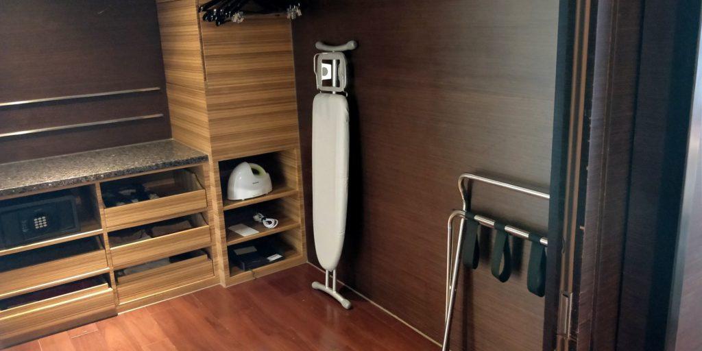 Hyatt on the Bund Shanghai Suite Wardrobe