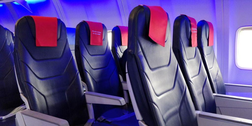 LOT regional Business Class Seat