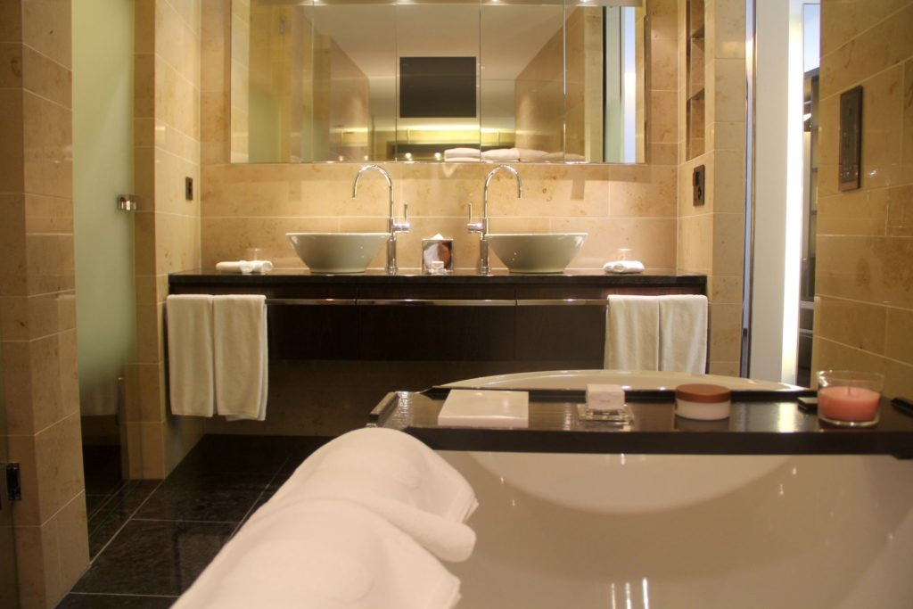 The Dolder Grand Zurich Superior Room Bathroom