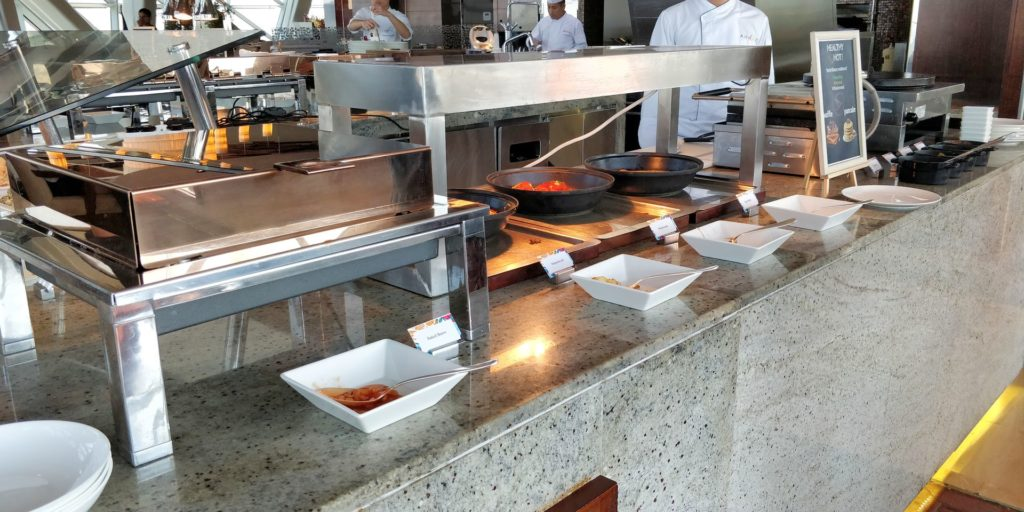 Andaz Capital Gate Abu Dhabi Breakfast