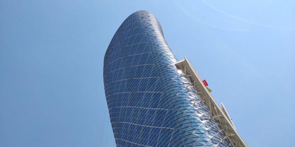 Andaz Capital Gate Abu Dhabi Building