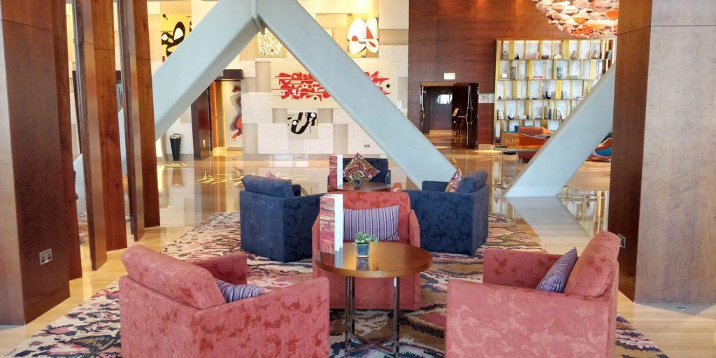 Andaz Capital Gate Abu Dhabi Lobby