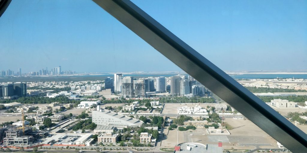 Andaz Capital Gate Abu Dhabi View