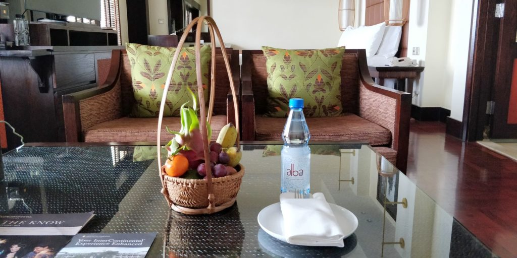 InterContinental Hanoi Westlake Welcome Gift