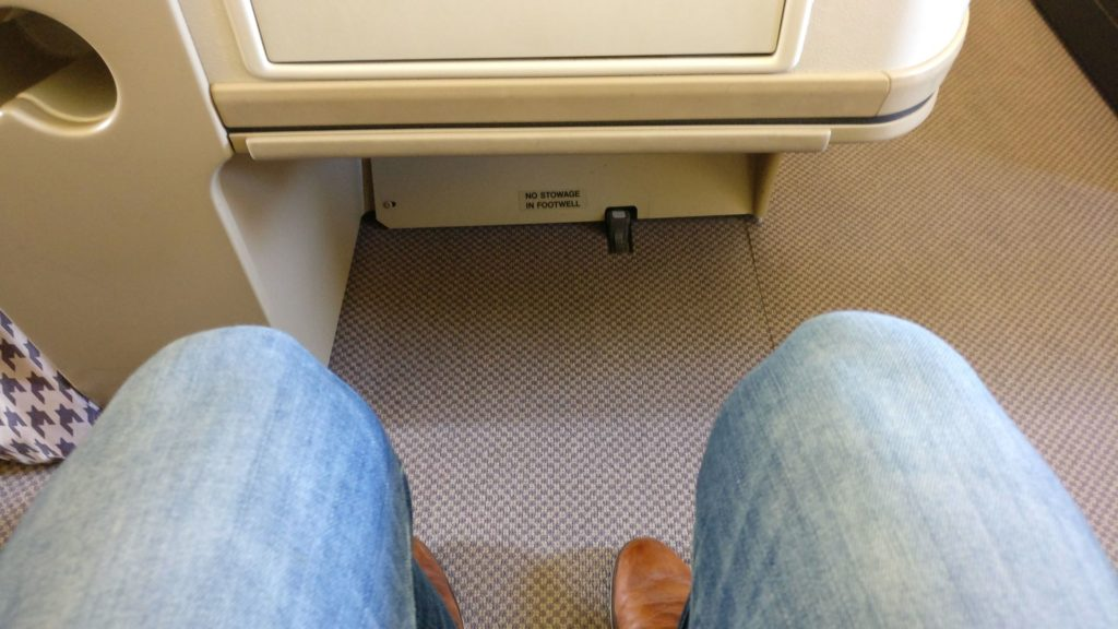 Singapore Airlines Business Class Airbus A330 Seat Pitch