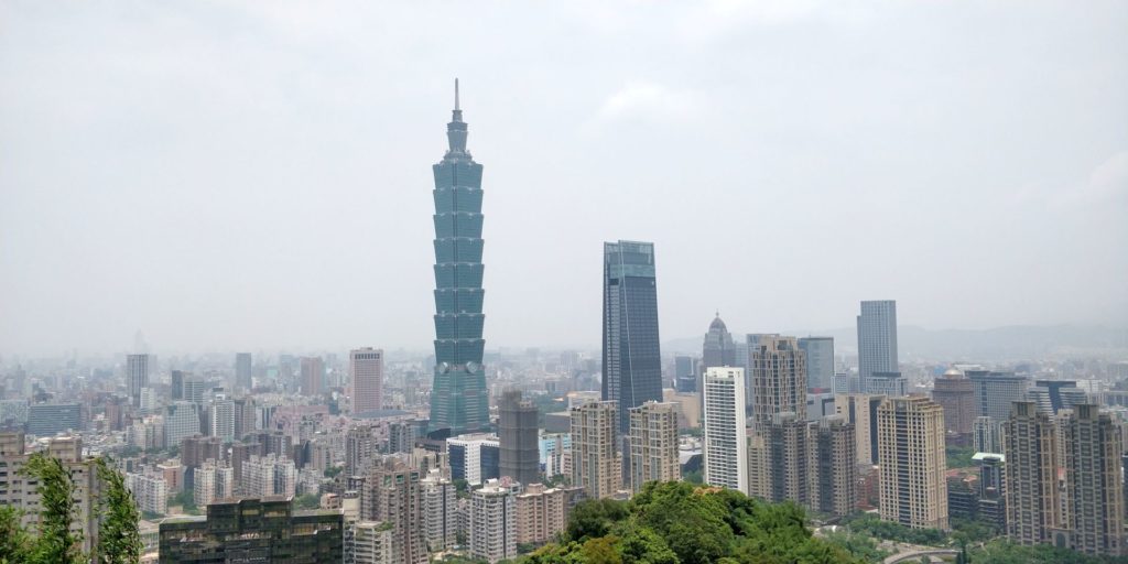 Elephant Mountain Taipei View