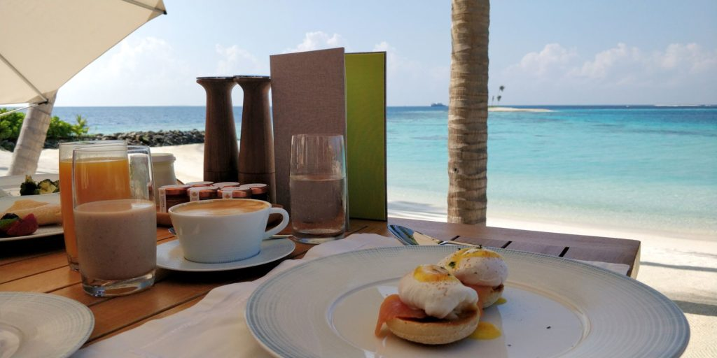 Waldorf Astoria Maldives Ithaafushi Breakfast