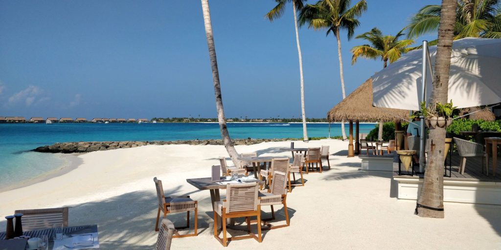 Waldorf Astoria Maldives Ithaafushi Breakfast Beach