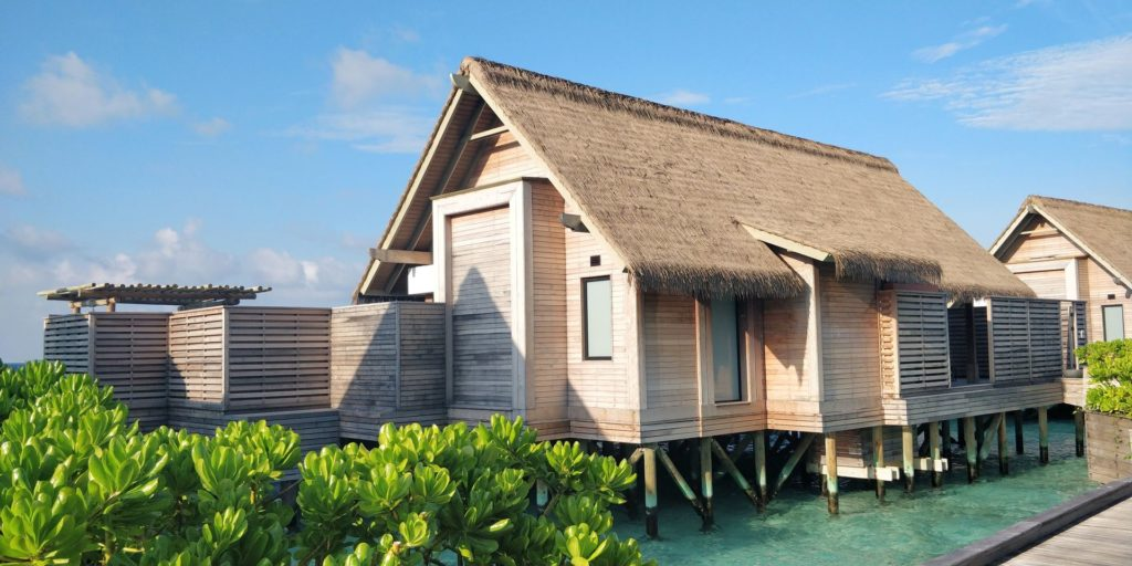 Waldorf Astoria Maldives Ithaafushi Overwater Villa Exterior
