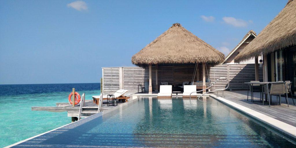 Waldorf Astoria Maldives Ithaafushi Overwater Villa Terrace