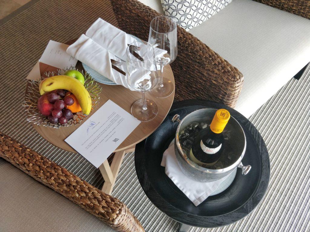 Waldorf Astoria Maldives Ithaafushi Overwater Villa Welcome Gift