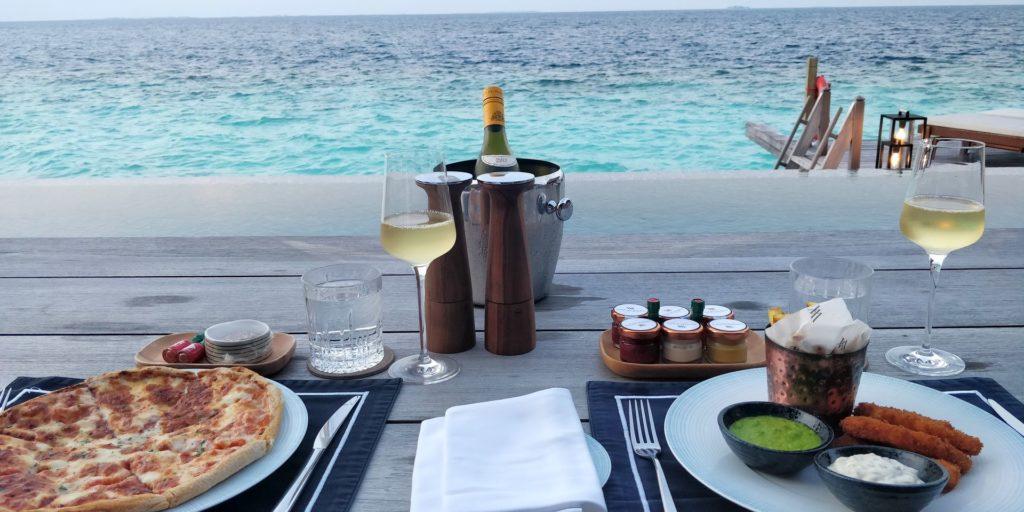 Waldorf Astoria Maldives Ithaafushi Room Service