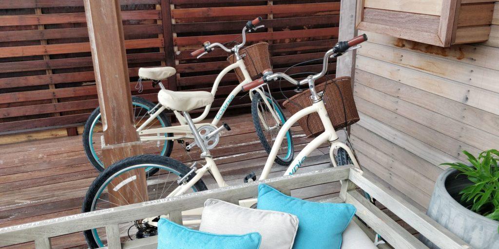 Waldorf Astoria Maldives Ithaafushi Water Villa Bikes